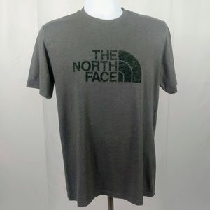 The North Face Small Gray Short Sleeve T-Shirt Top